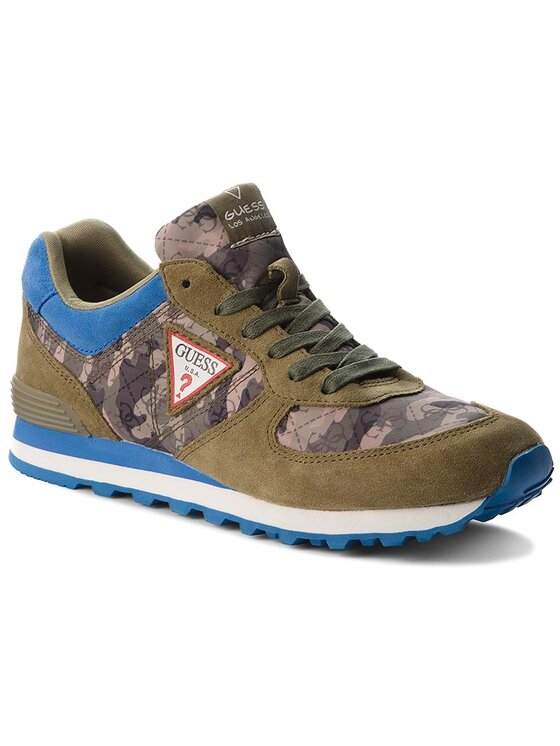 Guess Guess Laisvalaikio batai Charlie FMCHA1 FAB12 Žalia