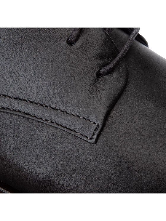 Tommy Hilfiger Tommy Hilfiger Scarpe basse Core Leather Lace Up Shoe FM0FM02547 Nero