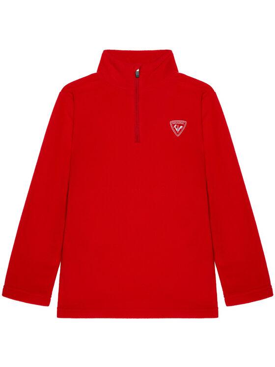 Rossignol Fliso džemperis 1/2 Zip Fleece RLIYL05 Raudona Regular Fit