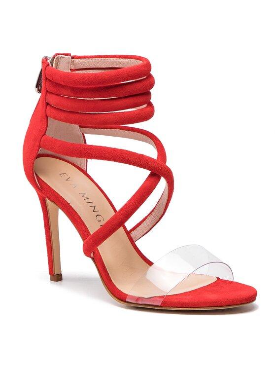 Eva Minge Eva Minge Sandále EM-21-05-000012 Červená