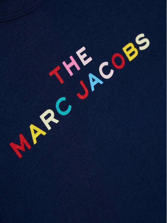 Little Marc Jacobs Little Marc Jacobs T-Shirt W15510 S Granatowy Regular Fit