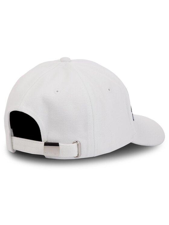 Calvin Klein Calvin Klein Καπέλο Jockey Industrial Pique' Baseball Cap K50K504473 Λευκό
