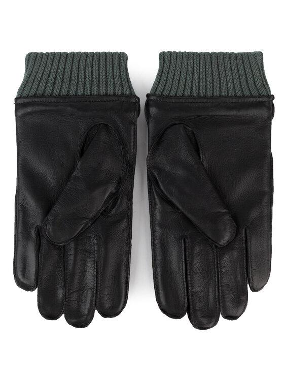 Guess Guess Mănuși pentru Bărbați Not Coordinated Gloves AM8575 LEA02 Negru