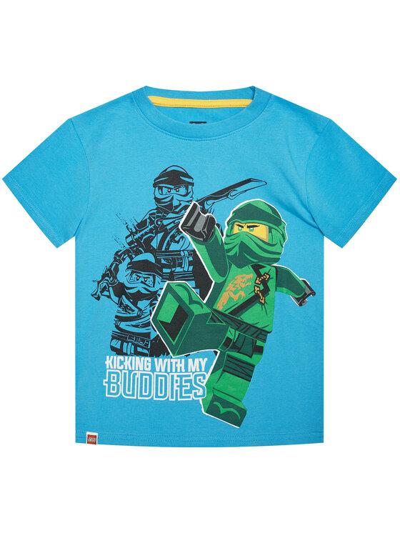 LEGO Wear Marškinėliai 12010021 Mėlyna Regular Fit
