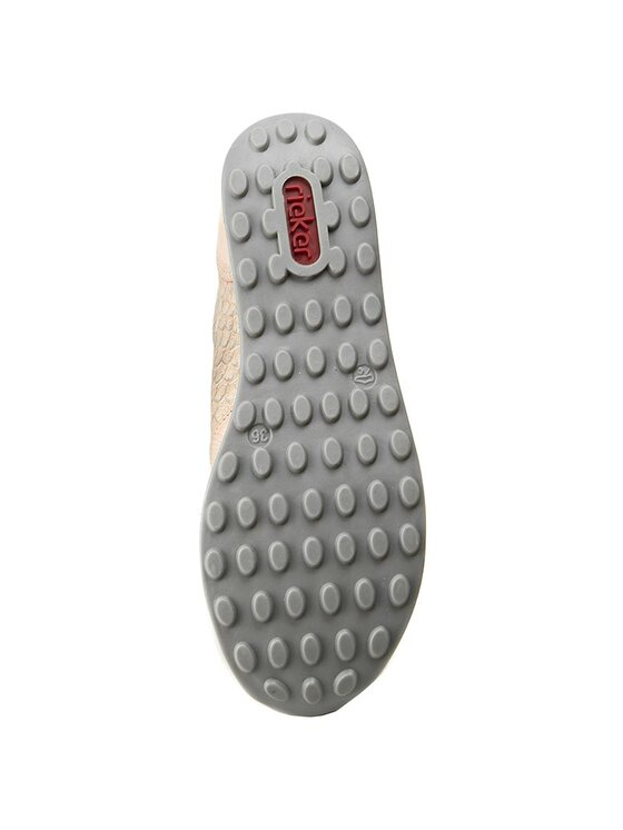 Rieker Rieker Sneakersy N1820-31 Ružová