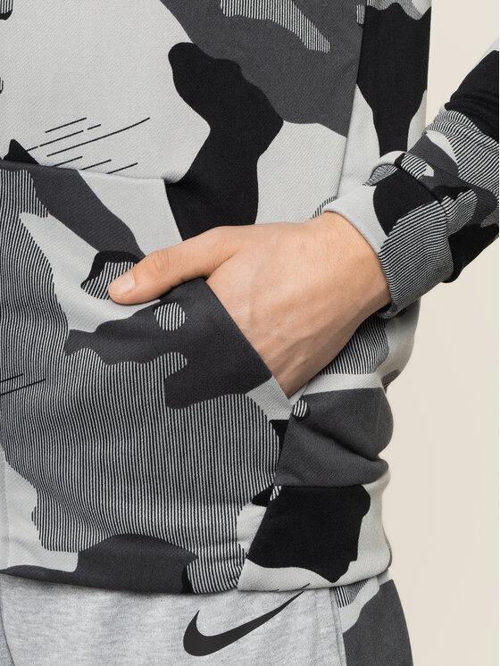 Nike Nike Bluza techniczna Dry Flice BV2718 Szary Standard Fit