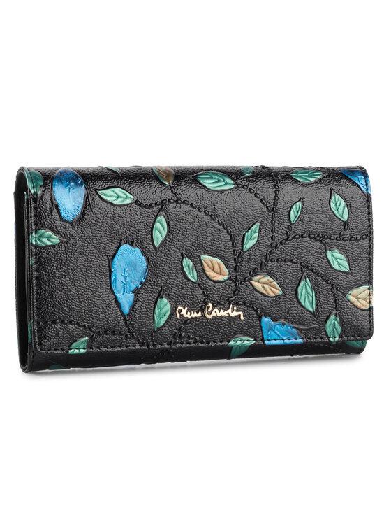 Pierre Cardin Pierre Cardin Veľká dámska peňaženka 04 PLANT 114 Čierna