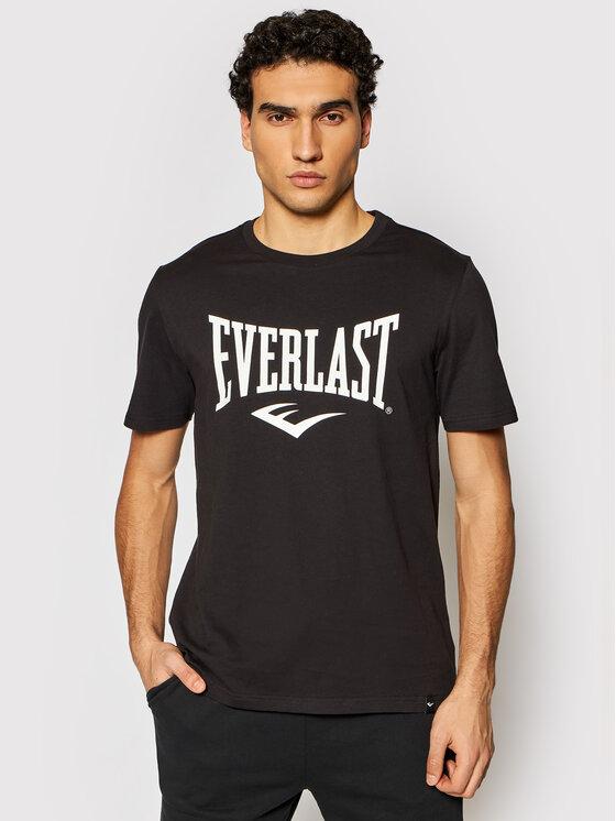 EVERLAST Marškinėliai 807580-60 Juoda Regular Fit