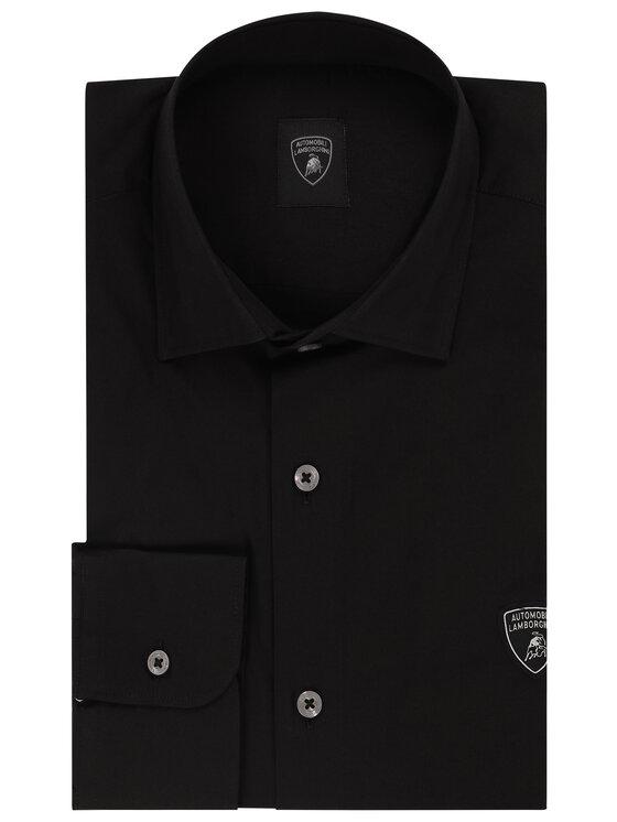 Lamborghini Lamborghini Košile B1XVB6L1 20425 Černá Regular Fit