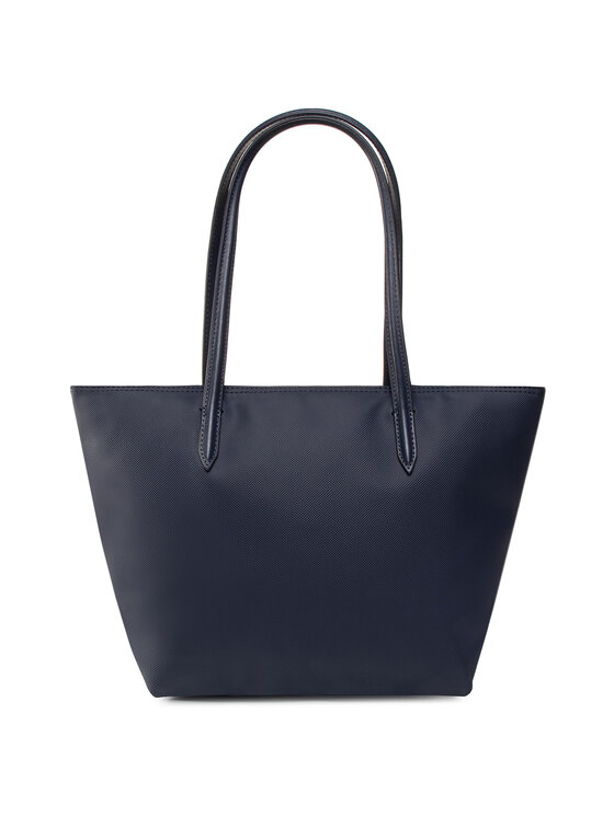 Lacoste Lacoste Torebka S Shopping Bag NF2037PO Granatowy
