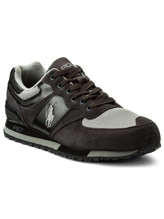 Polo Ralph Lauren Polo Ralph Lauren Sneakersy Slaton 809668429001 Szary
