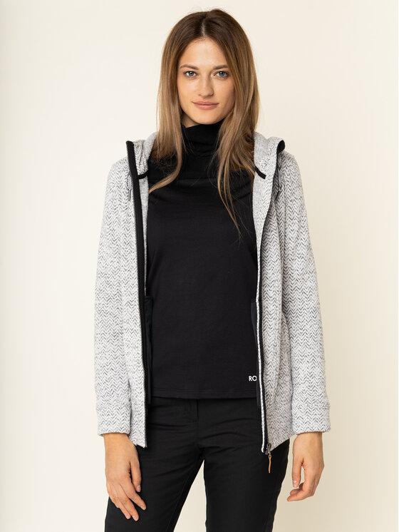 Roxy Roxy Techninis džemperis Doe ERJFT03968 Pilka Fitted Fit