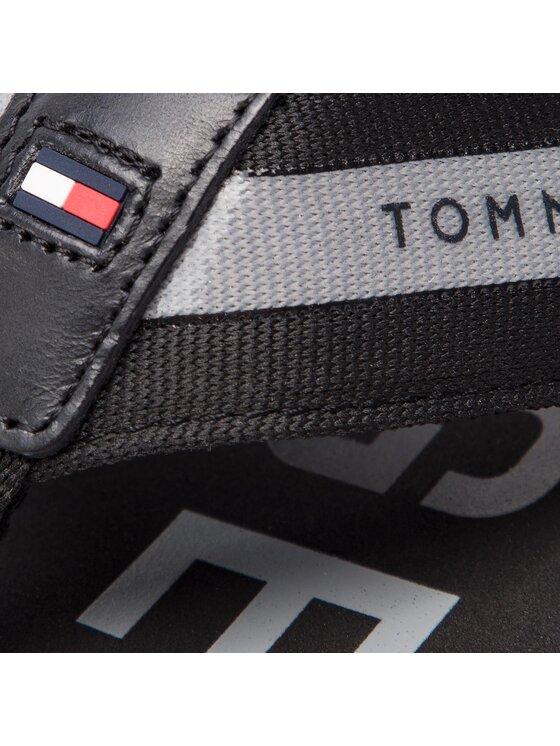 Tommy Hilfiger Tommy Hilfiger Japonki Bold Hilfiger Beach Sandal FM0FM01928 Czarny