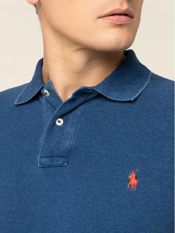 Polo Ralph Lauren Polo Ralph Lauren Pólóing 710536856 Sötétkék Slim Fit