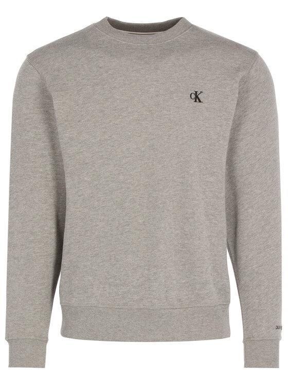 Calvin Klein Jeans Calvin Klein Jeans Sweatshirt Embroidered Logo J30J314536 Grau Regular Fit