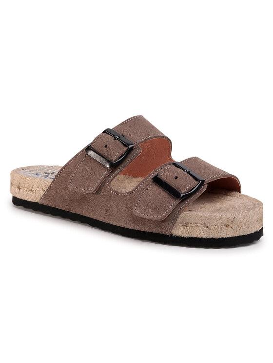 Manebi Espadryle Nordic Sandals K 1.9 R0 Brązowy