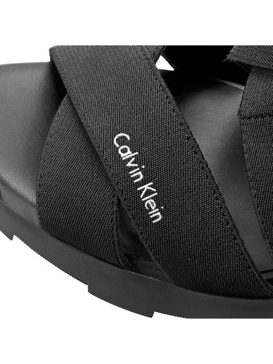 Calvin Klein Calvin Klein Sandały Aisha N12002 Czarny