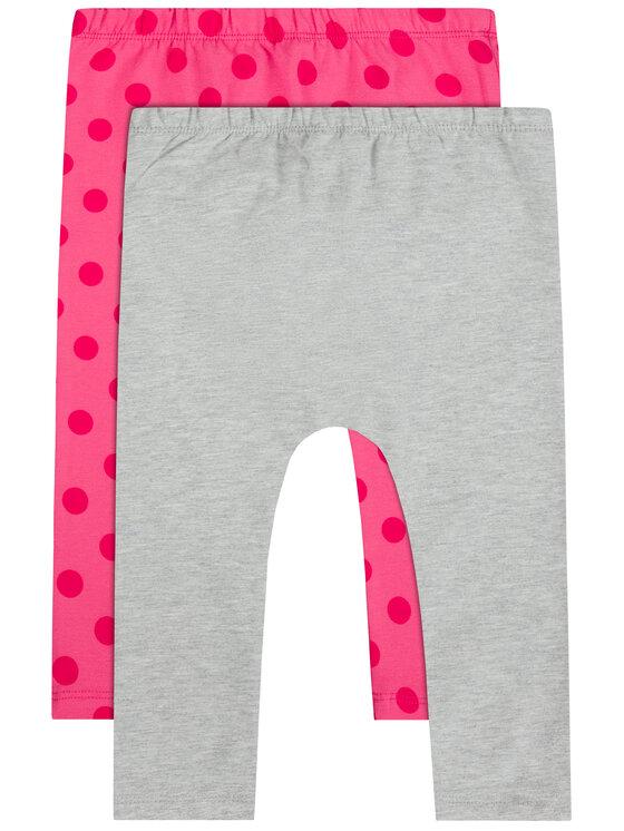 Primigi Primigi Set 2 perechi leggings 44126502 Colorat Slim Fit