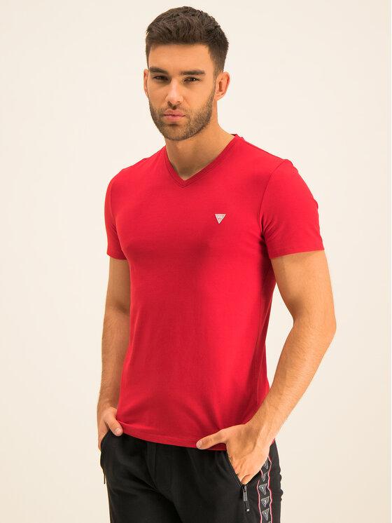 Guess Guess T-shirt M01I32 J1300 Rosso Regular Fit