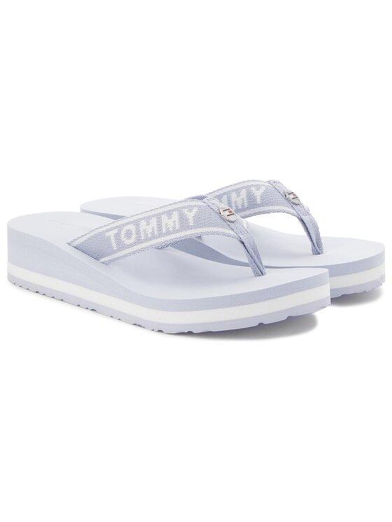 Tommy Hilfiger Tommy Hilfiger Flip-flops Tommy Branding Beach Sandal FW0FW02953 Kék