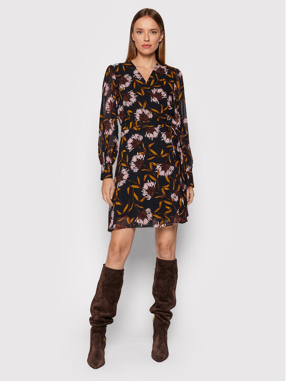 Marella Marella Ежедневна рокля Cleo 32261616 Черен Regular Fit