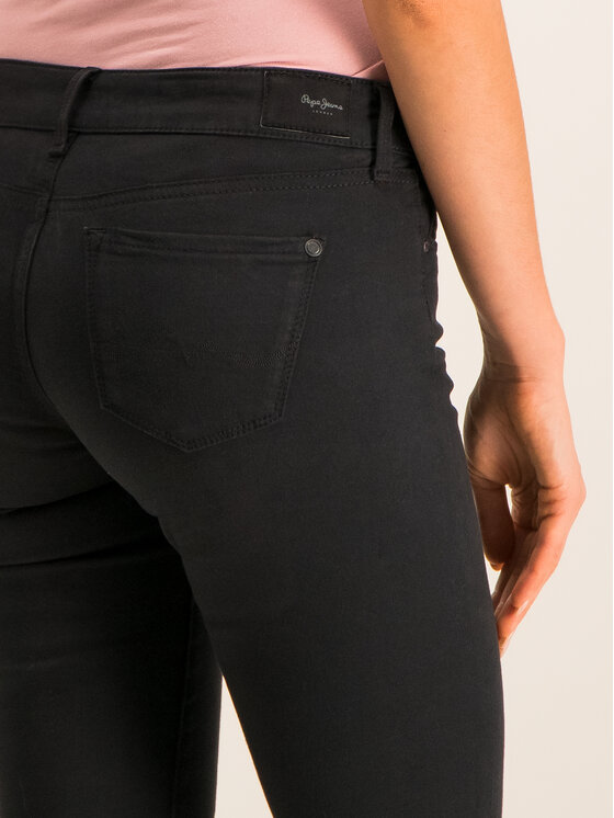 Pepe Jeans Pepe Jeans Skinny Fit džínsy PL210804U912 Čierna Skinny Fit