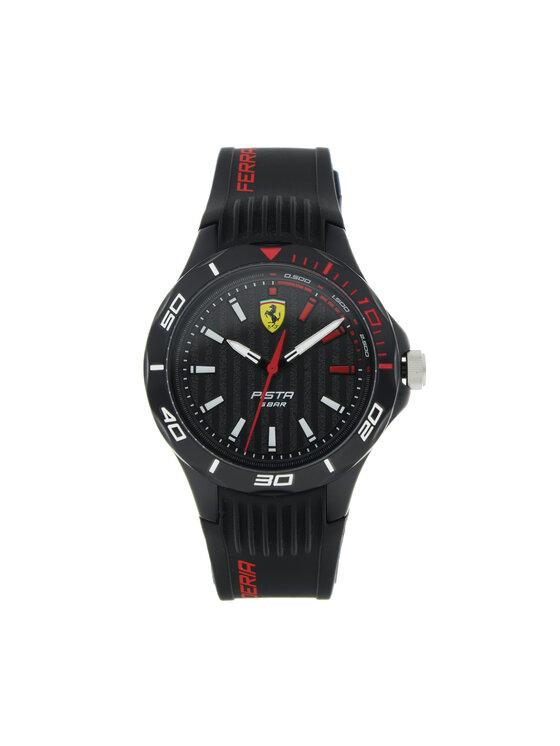 Scuderia Ferrari Laikrodis Pista 0840038 Juoda