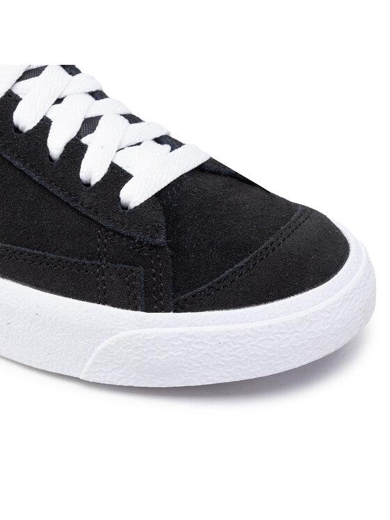 Nike Nike Buty Blazer Mid '77 Suede (Gs) DD3237 002 Czarny