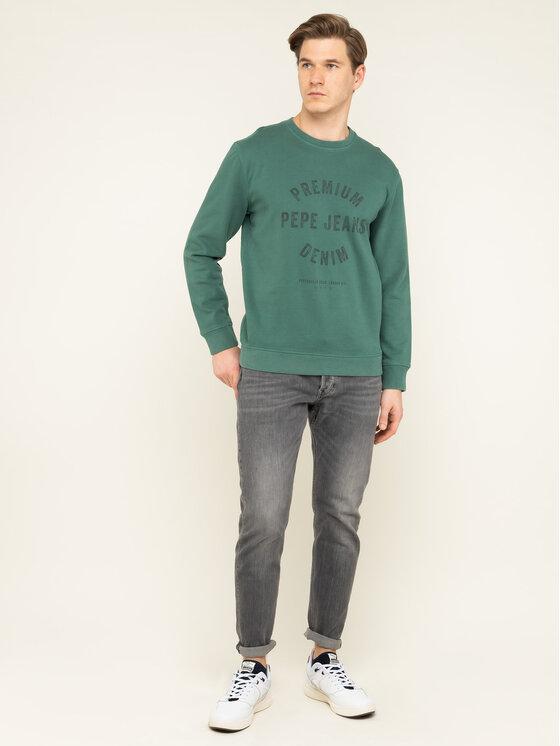 Pepe Jeans Pepe Jeans Bluză Lucas PM581663 Verde Regular Fit