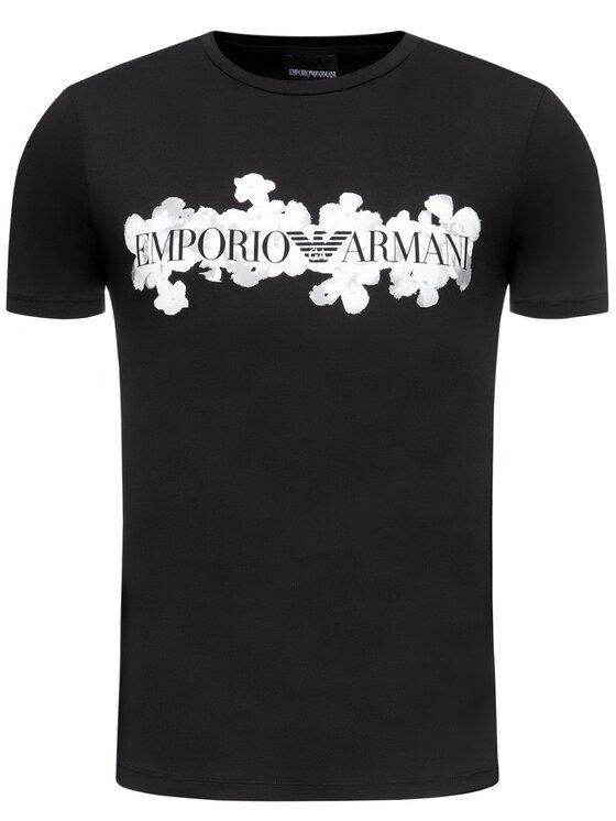 Emporio Armani Emporio Armani T-shirt 3H1T6S 1JQ4Z 0999 Nero Regular Fit
