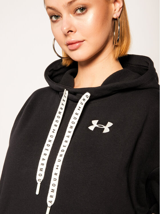 Under Armour Under Armour Суитшърт Taped 1352744 Черен Loose Fit