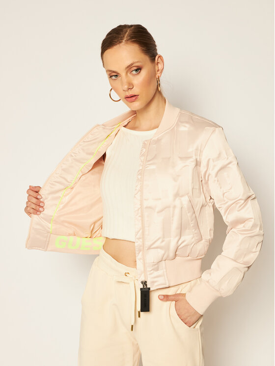 Guess Guess Geacă bomber Elly W0YL59 WD1V0 Bej Regular Fit