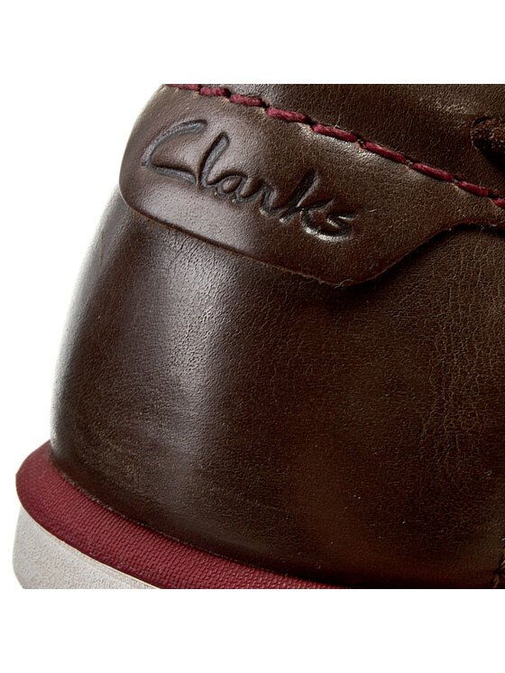Clarks Clarks Mokasíny Kelan Step 261067267 Hnědá