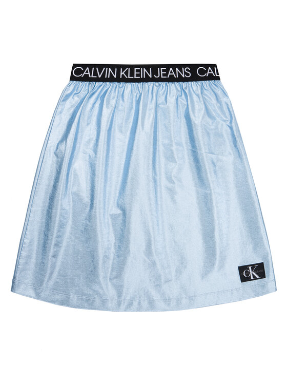 Calvin Klein Jeans Calvin Klein Jeans Rock Metallic Foil IG0IG00415 Blau Regular Fit