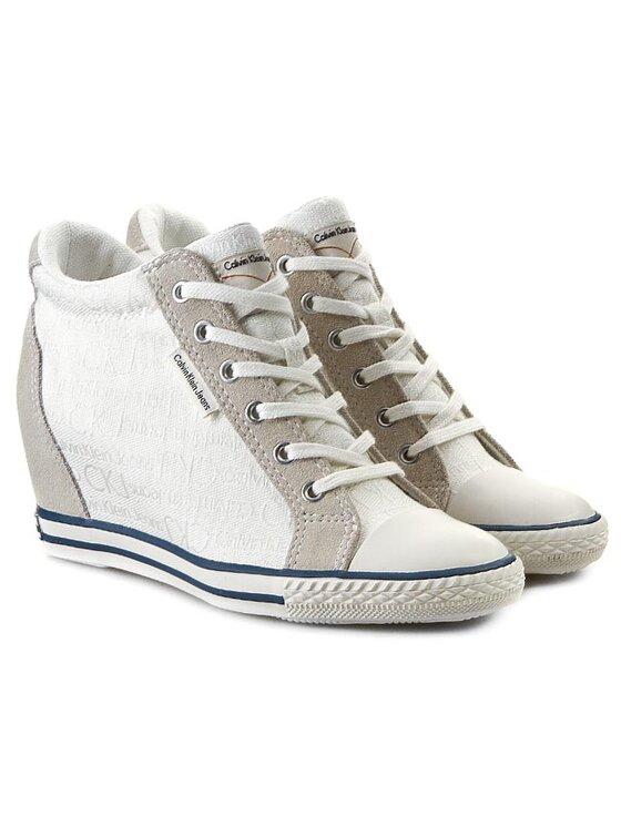 Calvin Klein Jeans Calvin Klein Jeans Sneakersy RE8969 Bílá