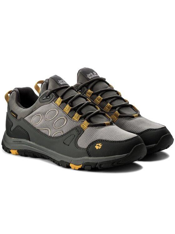 Jack Wolfskin Jack Wolfskin Trekingová obuv Activate Texapore Low M 4024361 Šedá