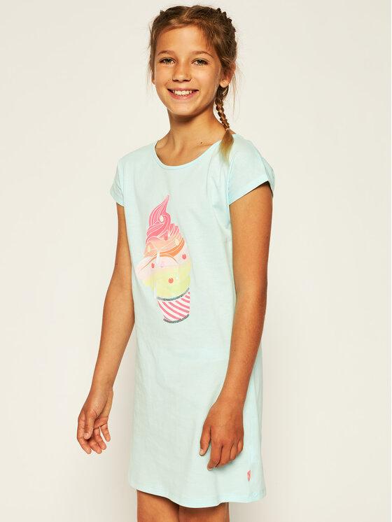 Billieblush Marškinėliai U12568 Mėlyna Regular Fit