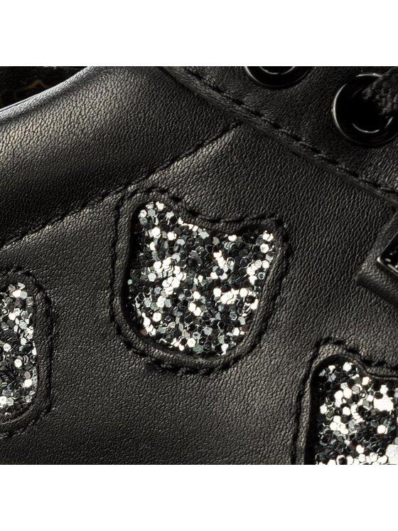 KARL LAGERFELD KARL LAGERFELD Sneakersy KL61039 Czarny