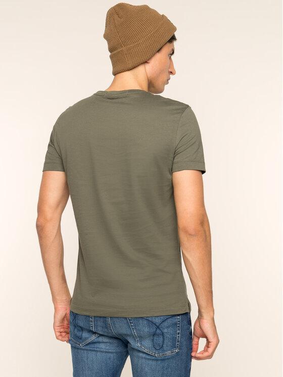 Calvin Klein Jeans Calvin Klein Jeans T-Shirt Pocket J30J313427 Πράσινο Slim Fit