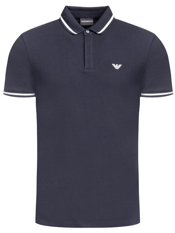 Emporio Armani Emporio Armani Polo marškinėliai 6G1FE1 1J0SZ 0922 Tamsiai mėlyna Regular Fit