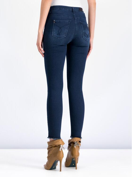 Patrizia Pepe Patrizia Pepe jeansy_skinny_fit 8J0509/A1HI-C768 Tamsiai mėlyna Slim Fit