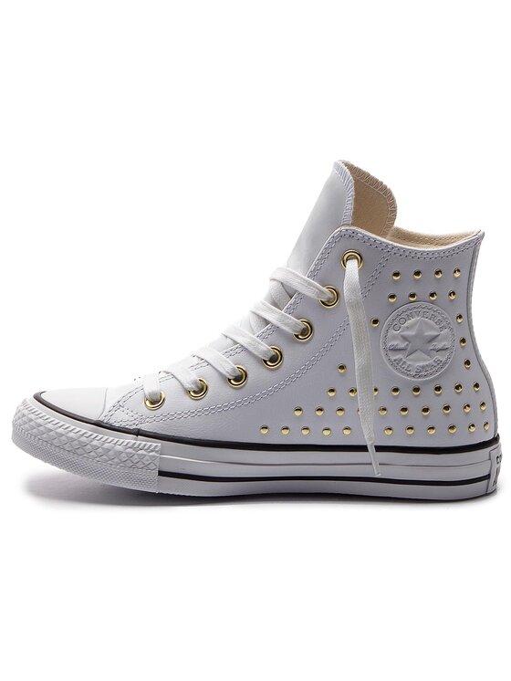 Converse Converse Plátenky Ctas Hi 561683C Biela