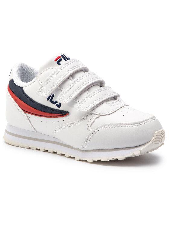 Fila Fila Sneakersy Orbit Velcro Low JR 1010350.98F Bílá