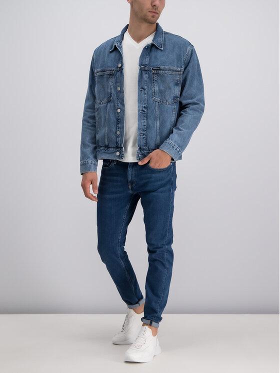 Calvin Klein Jeans Calvin Klein Jeans Jeansy Slim Fit J30J311916 Granatowy Slim Fit