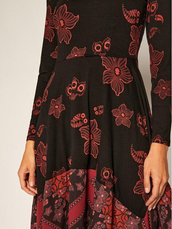 TOMMY HILFIGER TOMMY HILFIGER Každodenní šaty Chicago 20WWVK56 Černá Regular Fit