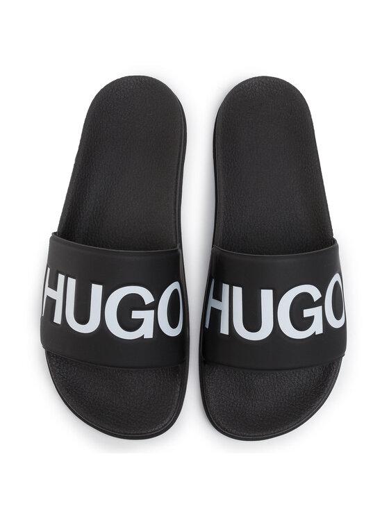 Hugo Hugo Klapki Match 50421188 10224398 01 Czarny