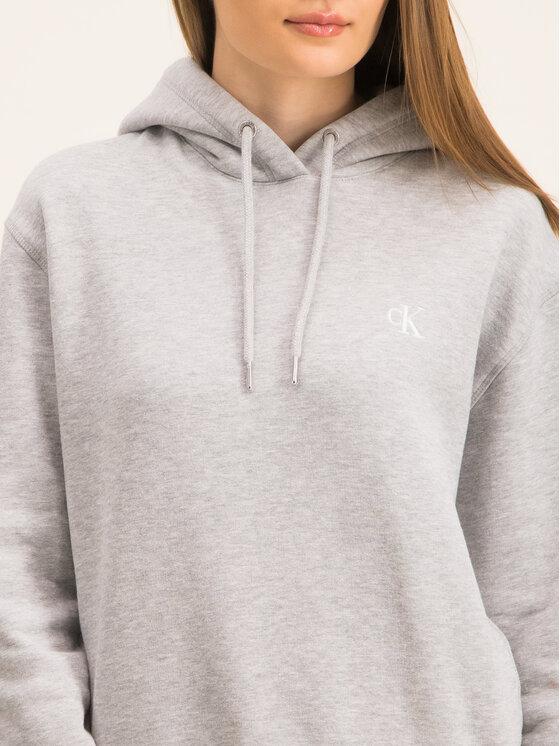 Calvin Klein Jeans Calvin Klein Jeans Sweatshirt Embroidered Logo J20J213178 Gris Regular Fit
