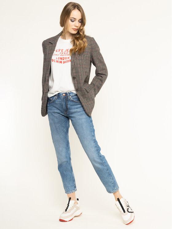 Pepe Jeans Pepe Jeans T-Shirt Kara PL504341 Béžová Regular Fit