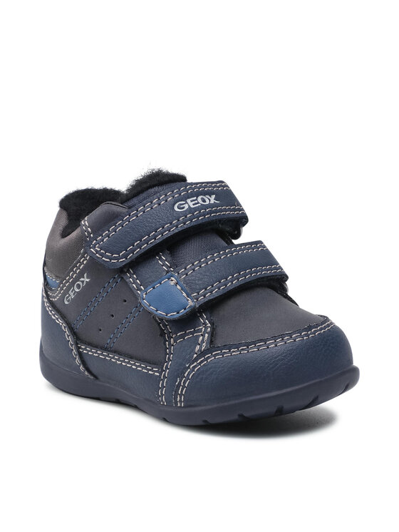Geox Auliniai batai B Elthan B. A B161PA 0MEBC CF44K Tamsiai mėlyna