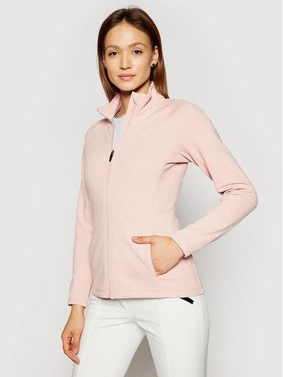 Rossignol Džemperis Classique Clim RLIWS02 Rožinė Slim Fit